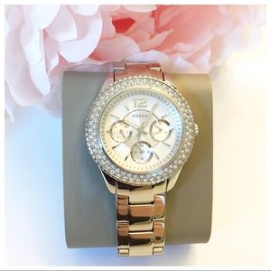 Fossil Stella Silver Watch